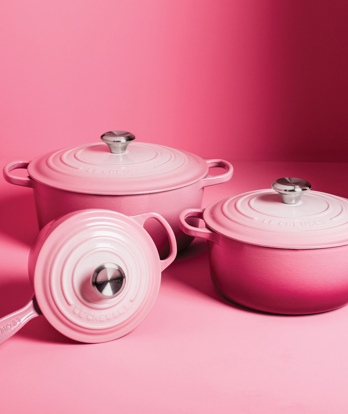 We Didn't Think Le Creuset Could Get Trendier Than Millennial Pink—Until This
