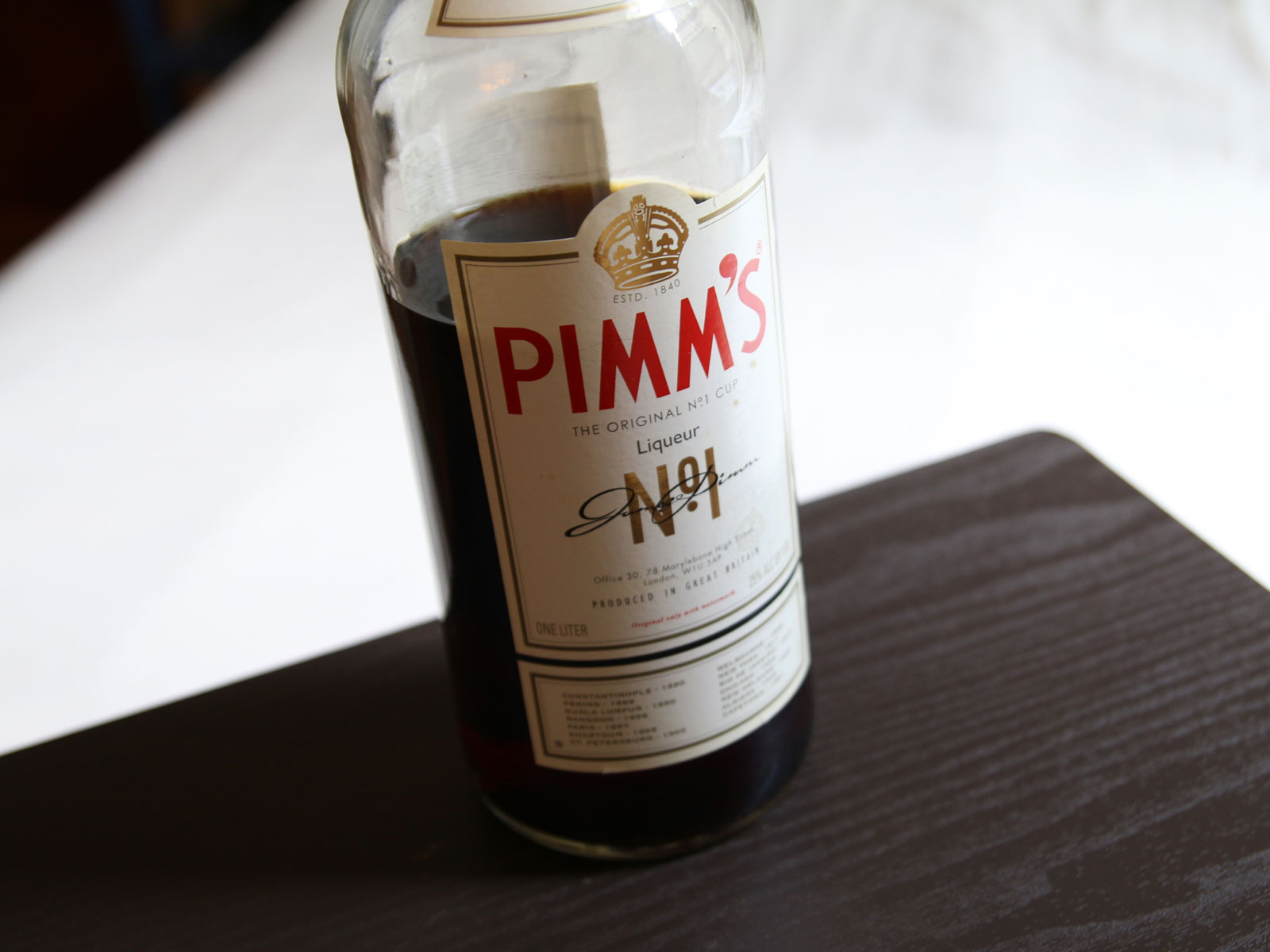 How to Use Pimm's, Beyond the Pimm's Cup