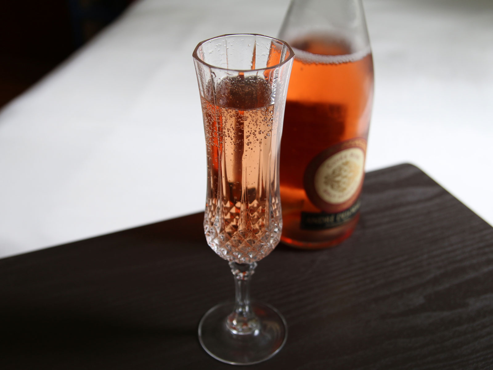 Sparkling Rose Cocktails