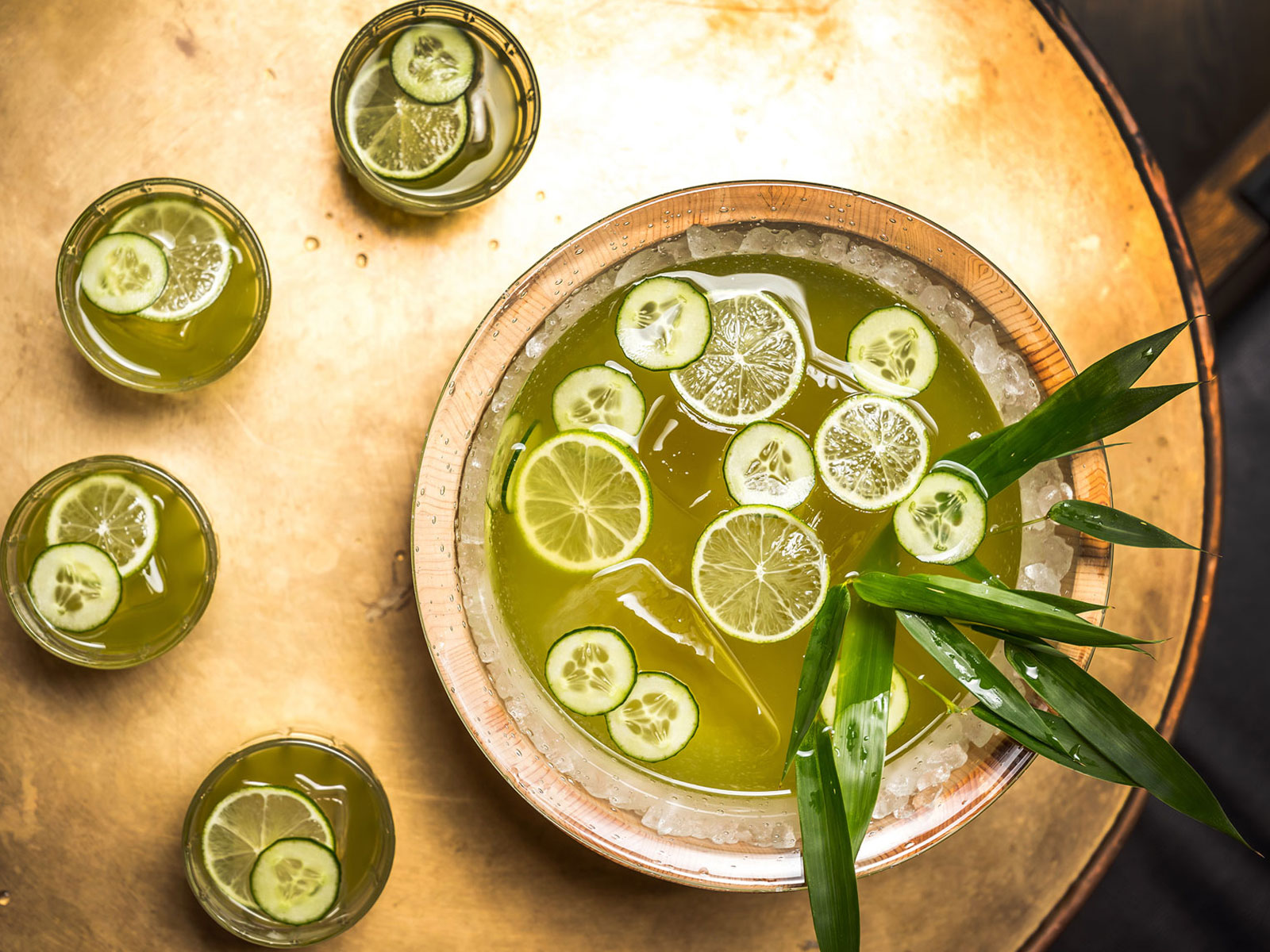 Make This Japanese-Inspired Summer Punch and Claim Your Title as the World's Best Party Host