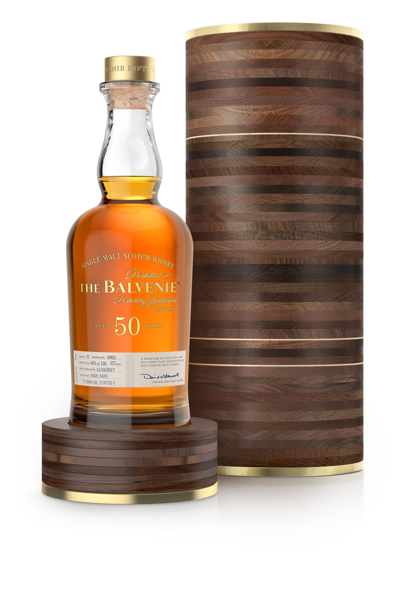 The Balvenie Unveils New 50-Year-Old Scotch Whisky