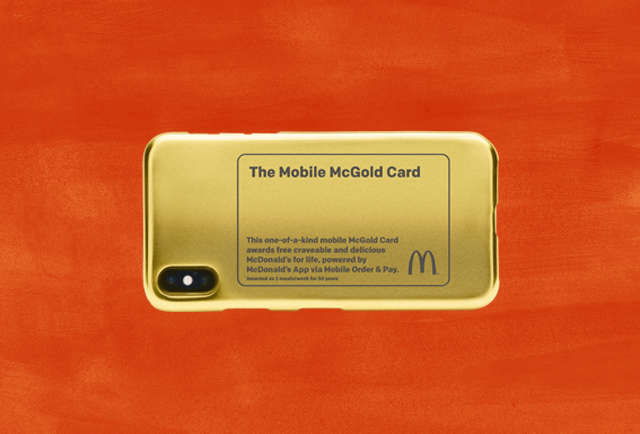 McDonald's McGold Card Offers Contest Winner Free Food For Life