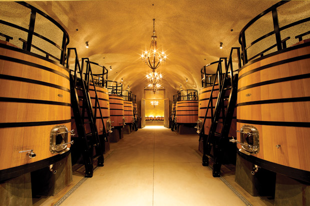 Dana Estates wine tank