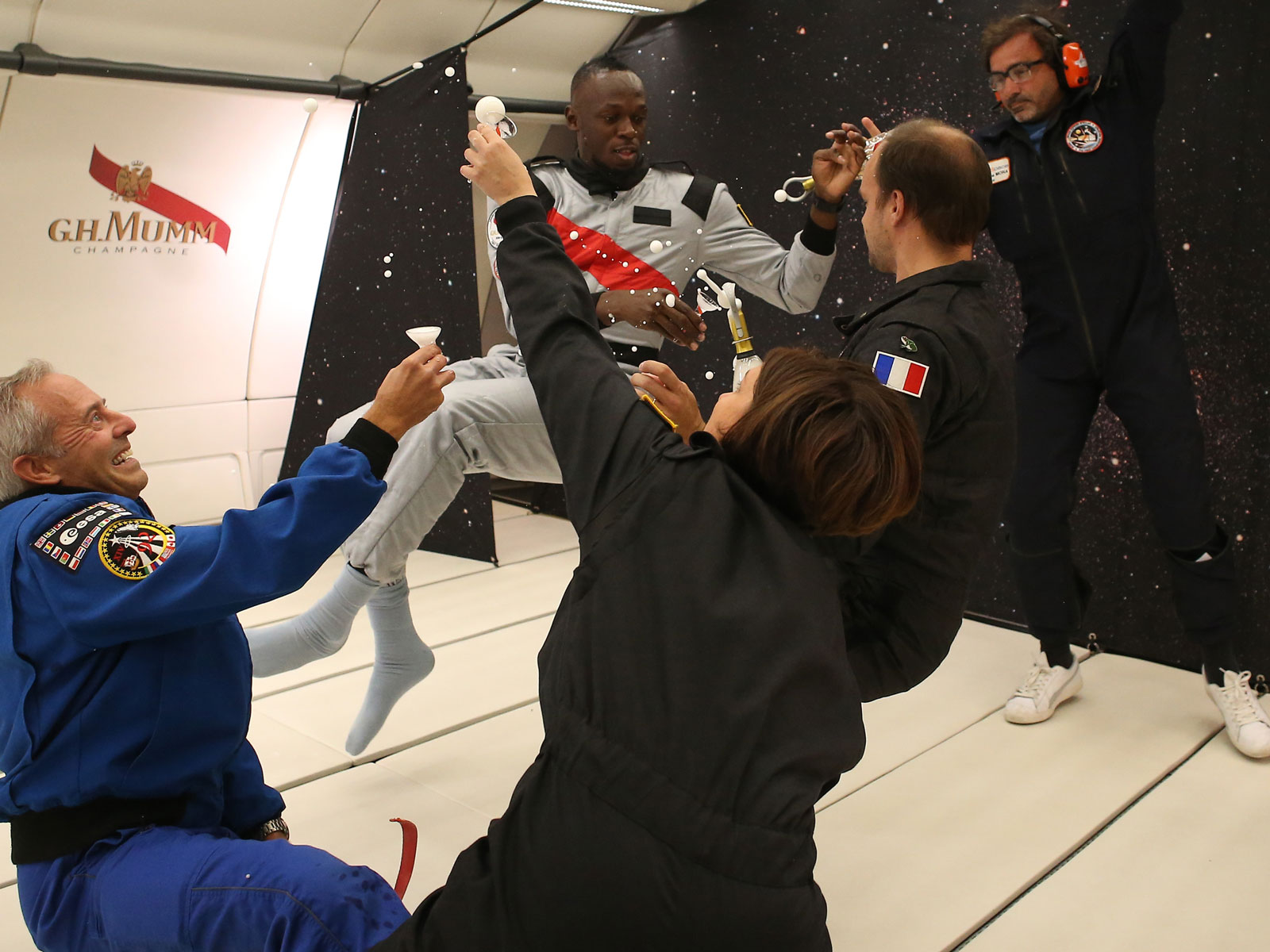I Drank Champagne in Zero Gravity – and Being a Trailblazer Isn't as Easy as It Sounds