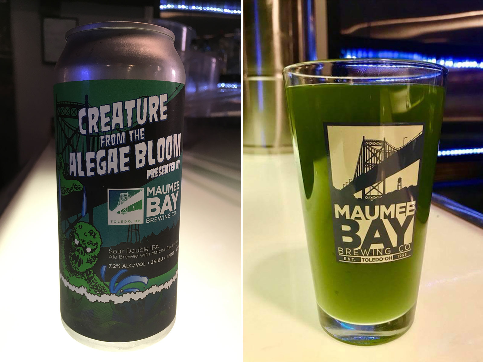 Green 'Alegae Bloom' Beer Brings Attention to the Importance of Water in Brewing