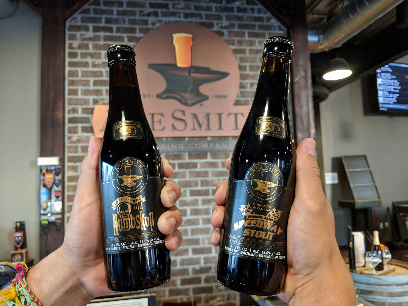 Alesmith Brewing - Cinnamon Vanilla Barrel-Aged Speedway Stout