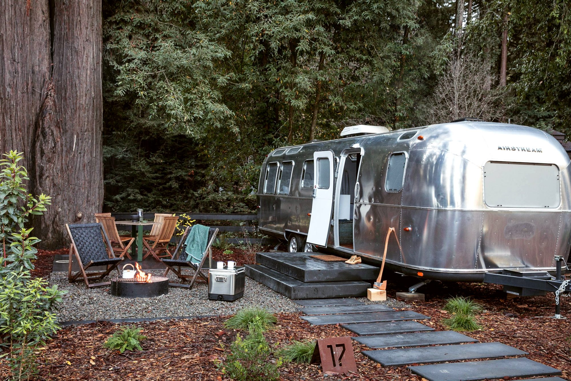 You Can Spend the Night in a Glamorous Airstream Trailer in the Middle of Yosemite National Park