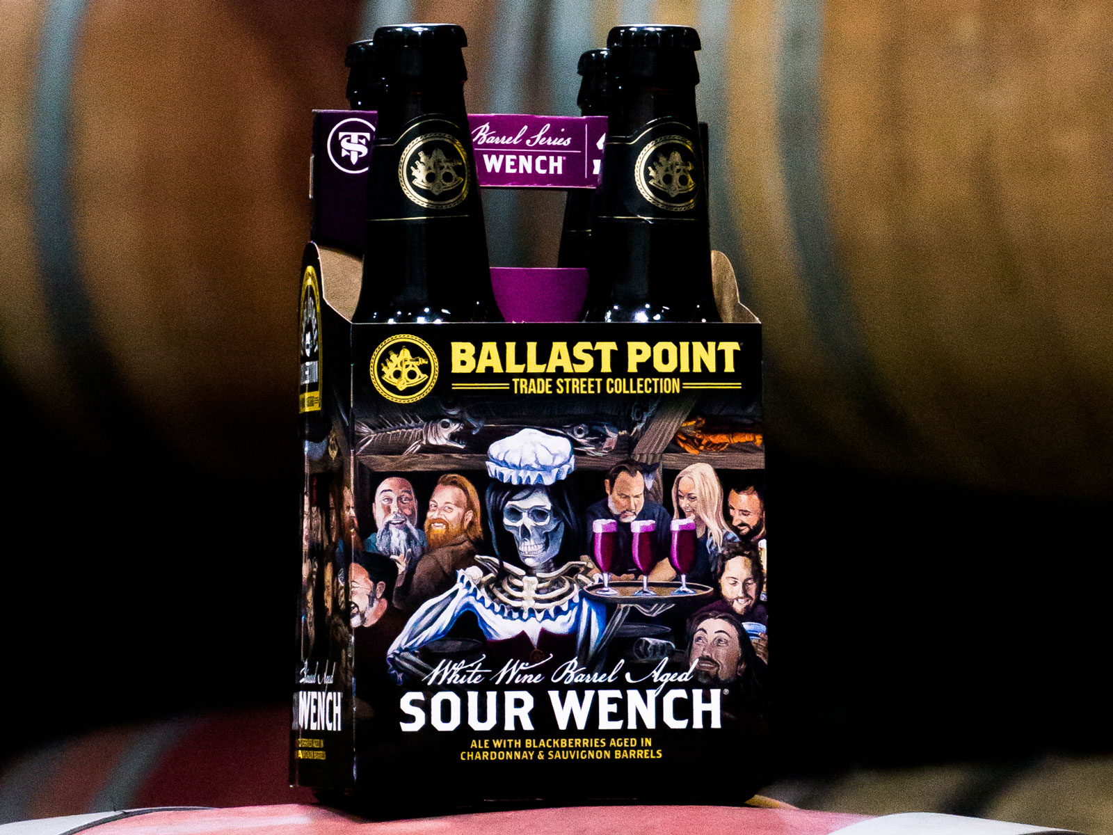 Ballast Point - White Wine Barrel-Aged Sour Wench