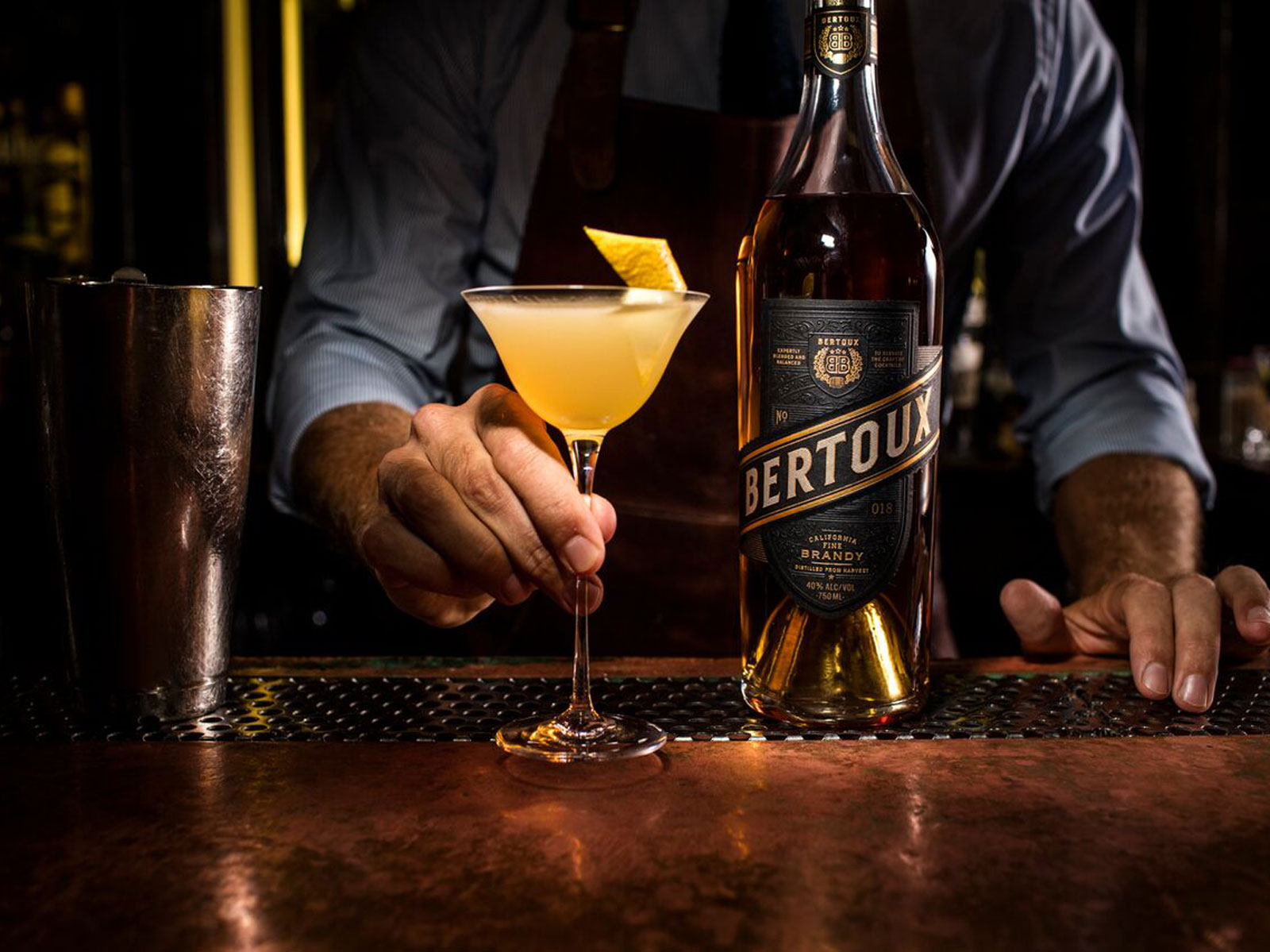New Bertoux Brandy Will Change the Way You Think About This Misunderstood Spirit