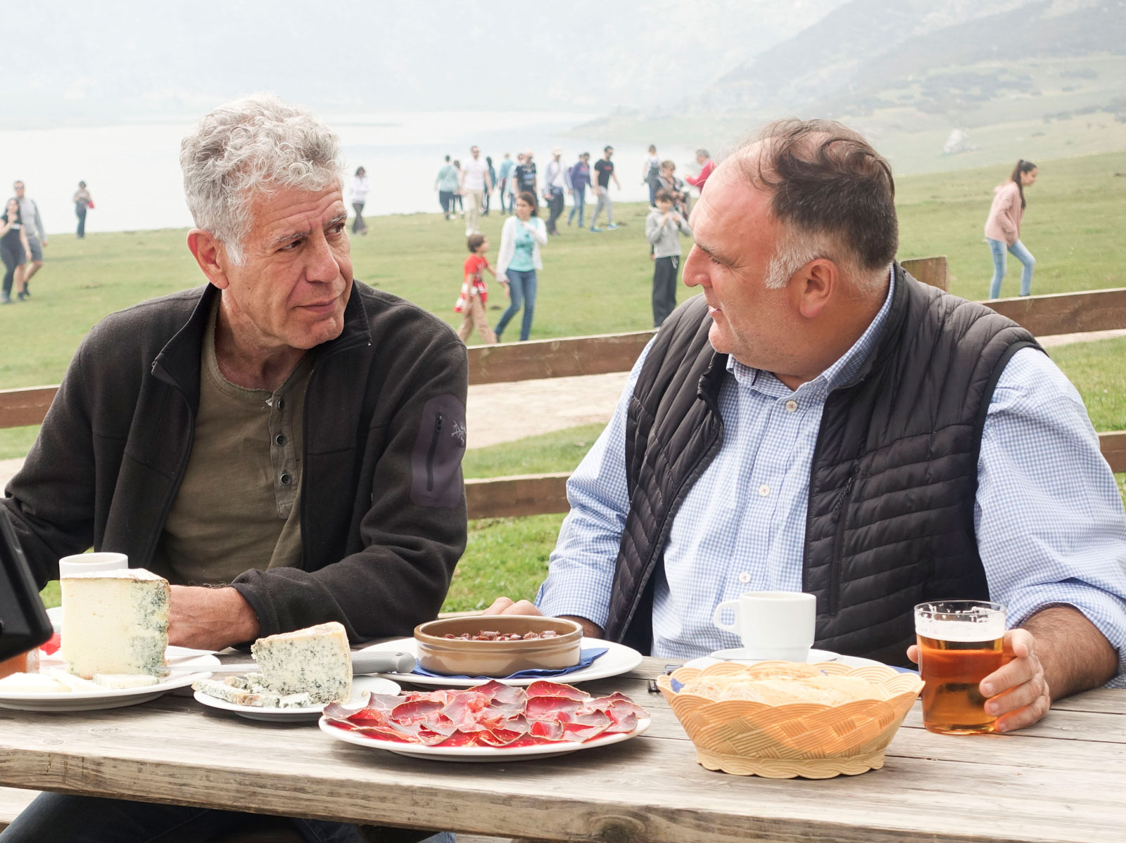 Here's What's in Store for Anthony Bourdain and José Andrés' Trip to Spain | Food & Wine
