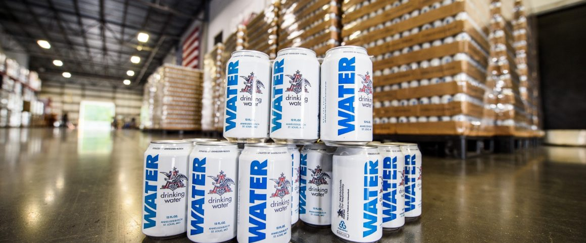 Anheuser-Busch Pauses Beer Brewing to Ship Cans of Water to Areas Projected to be Impacted by Hurricane Florence