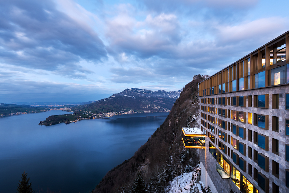 How to Experience Bürgenstock's Award-Winning Swiss Cuisine at 35,000 Feet