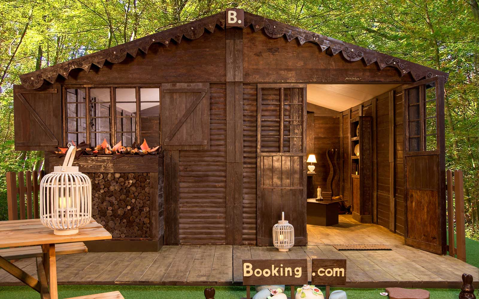Booking.com's Chocolate Cottage in France