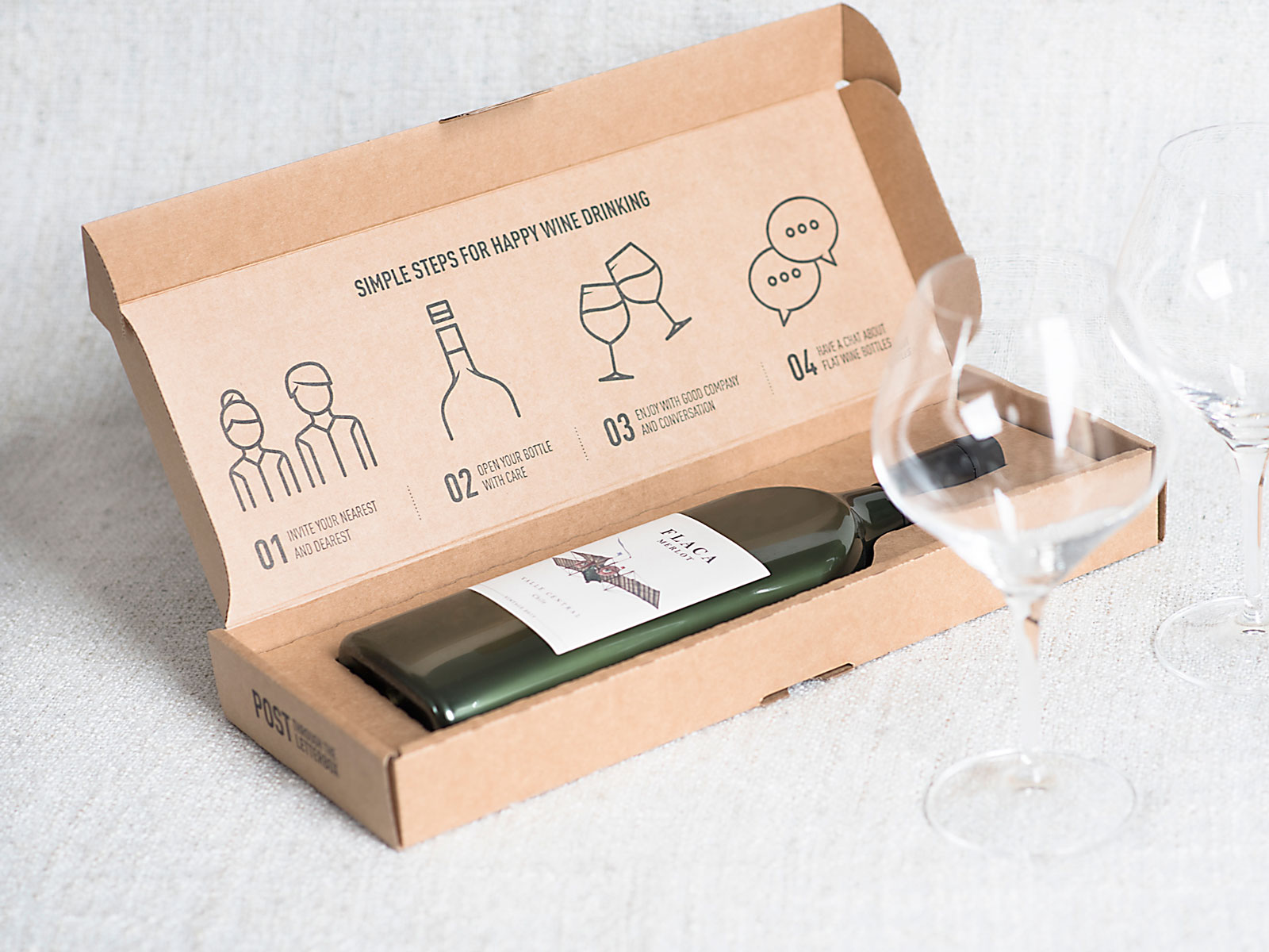 The World's First Flat Wine Bottle Won an Award for Packaging Innovation