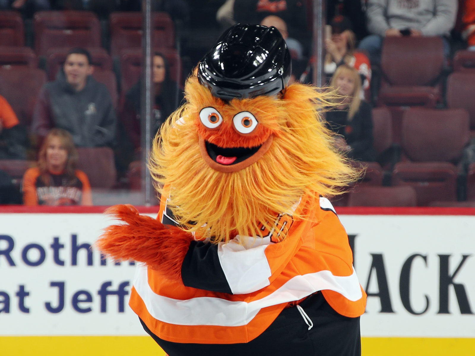 Gritty, the Googly-Eyed Philadelphia Flyers Mascot, Already Has an Aptly-Named Beer Tribute