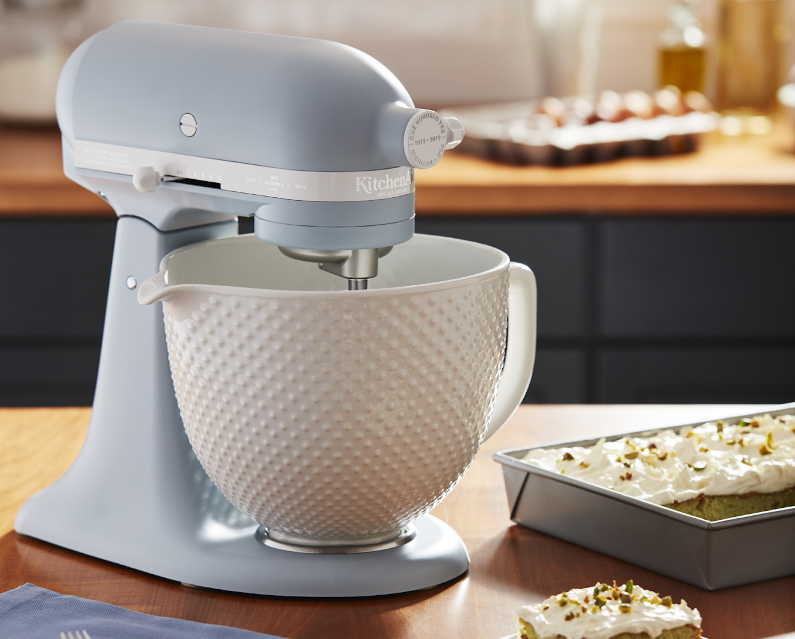 KitchenAid Just Released A Retro Inspired Mixer Color To Celebrate The  Brandu0027s 100th Anniversary   Food U0026 Wine
