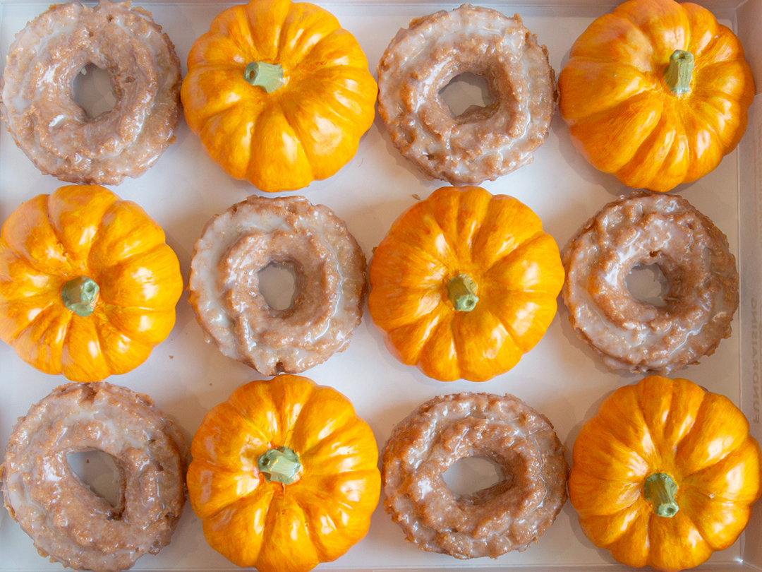 How to Snag a Free Pumpkin Spice Doughnut From Krispy Kreme Today
