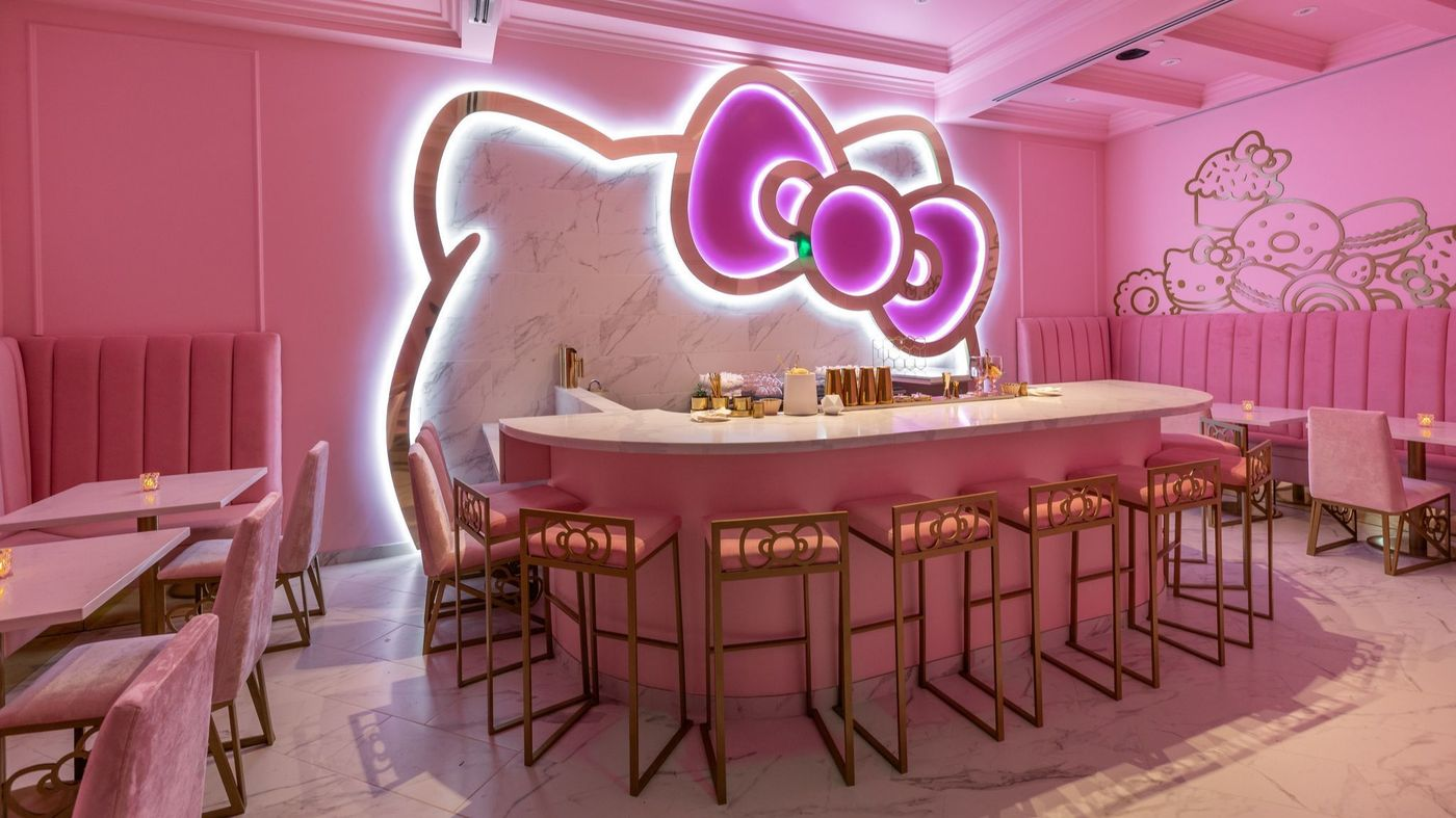 Irvine's Hottest New Club Is the Hello Kitty Grand Cafe