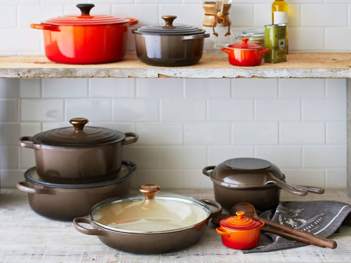 Le Creuset Has a New Color That's Perfect for Fall
