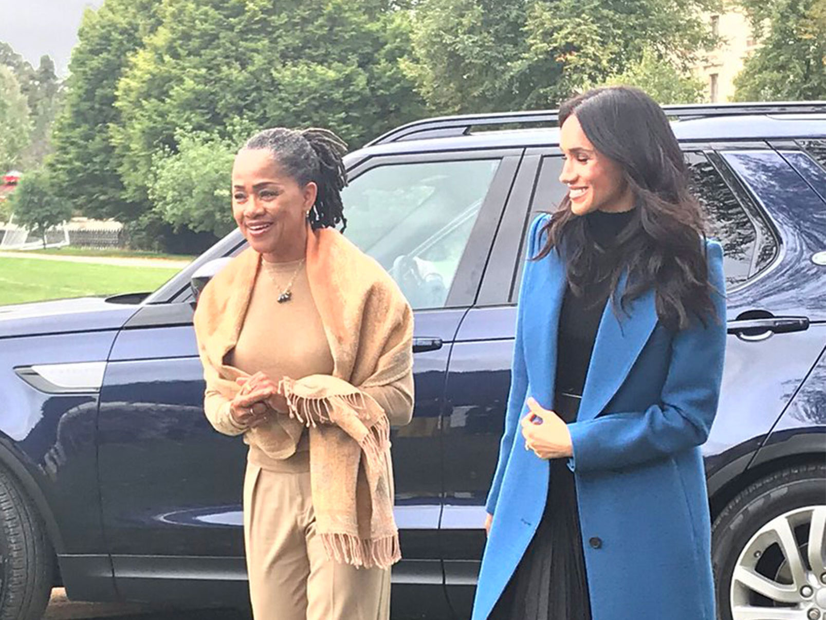 Meghan Markle Hosts Palace Party for Charity Cookbook with Prince Harry and Mom Doria by Her Side