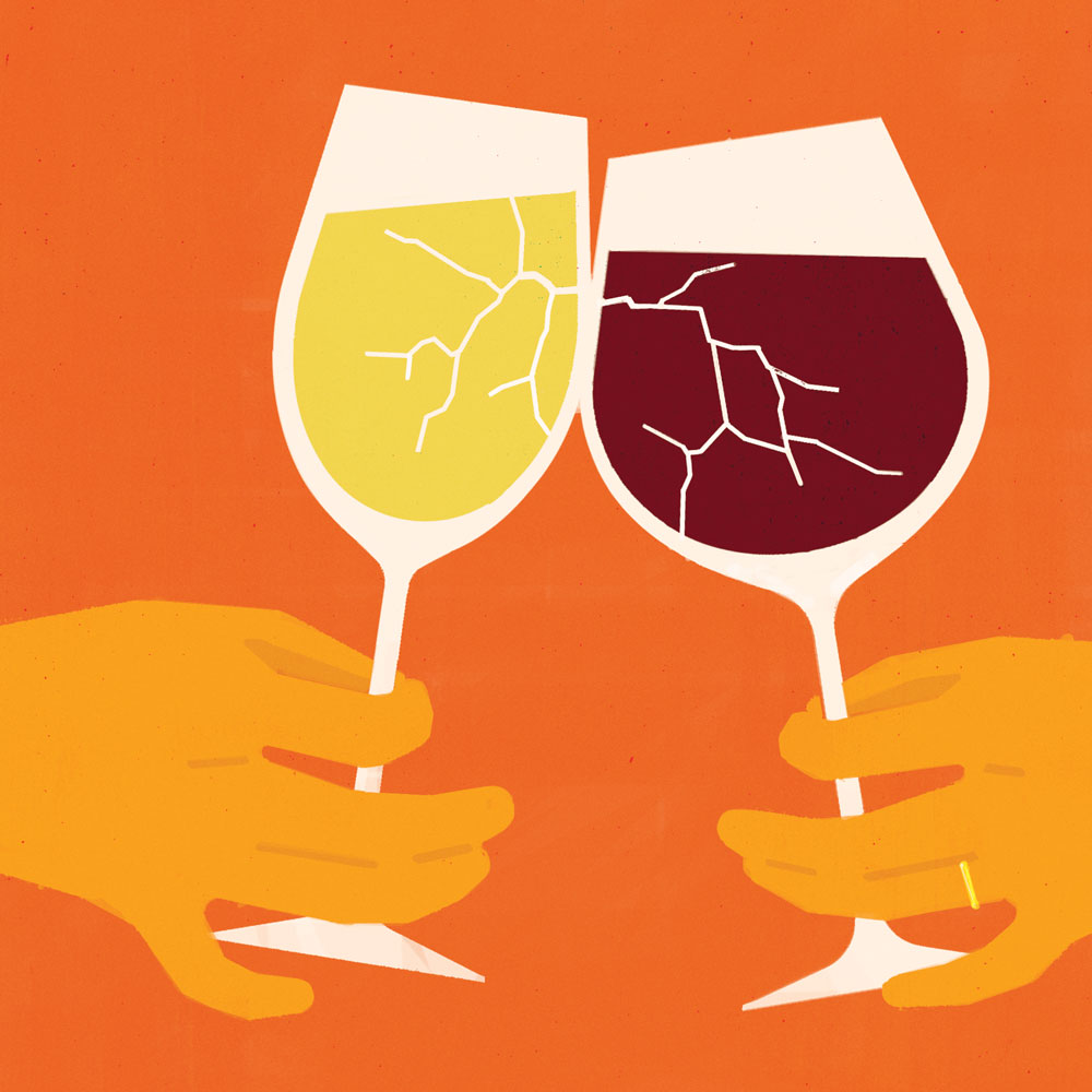 How Natural Wine Solved This Marriage's One Big Problem