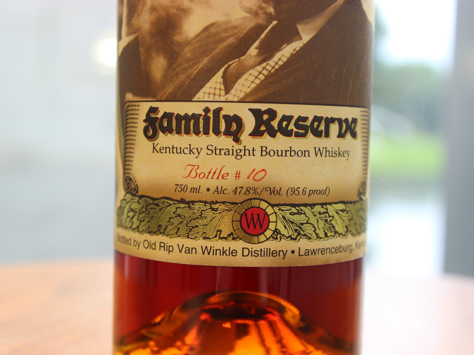 Ultra-Rare Pappy Van Winkle Family Reserve Bottle to Go Up For Auction