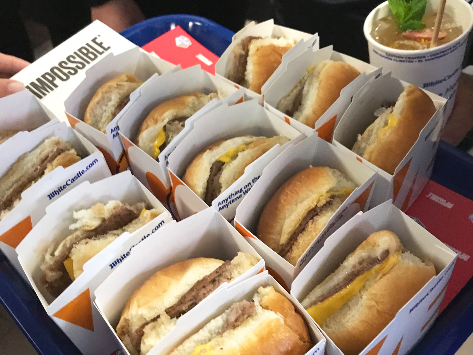 We Tried White Castle's Impossible Burger Slider
