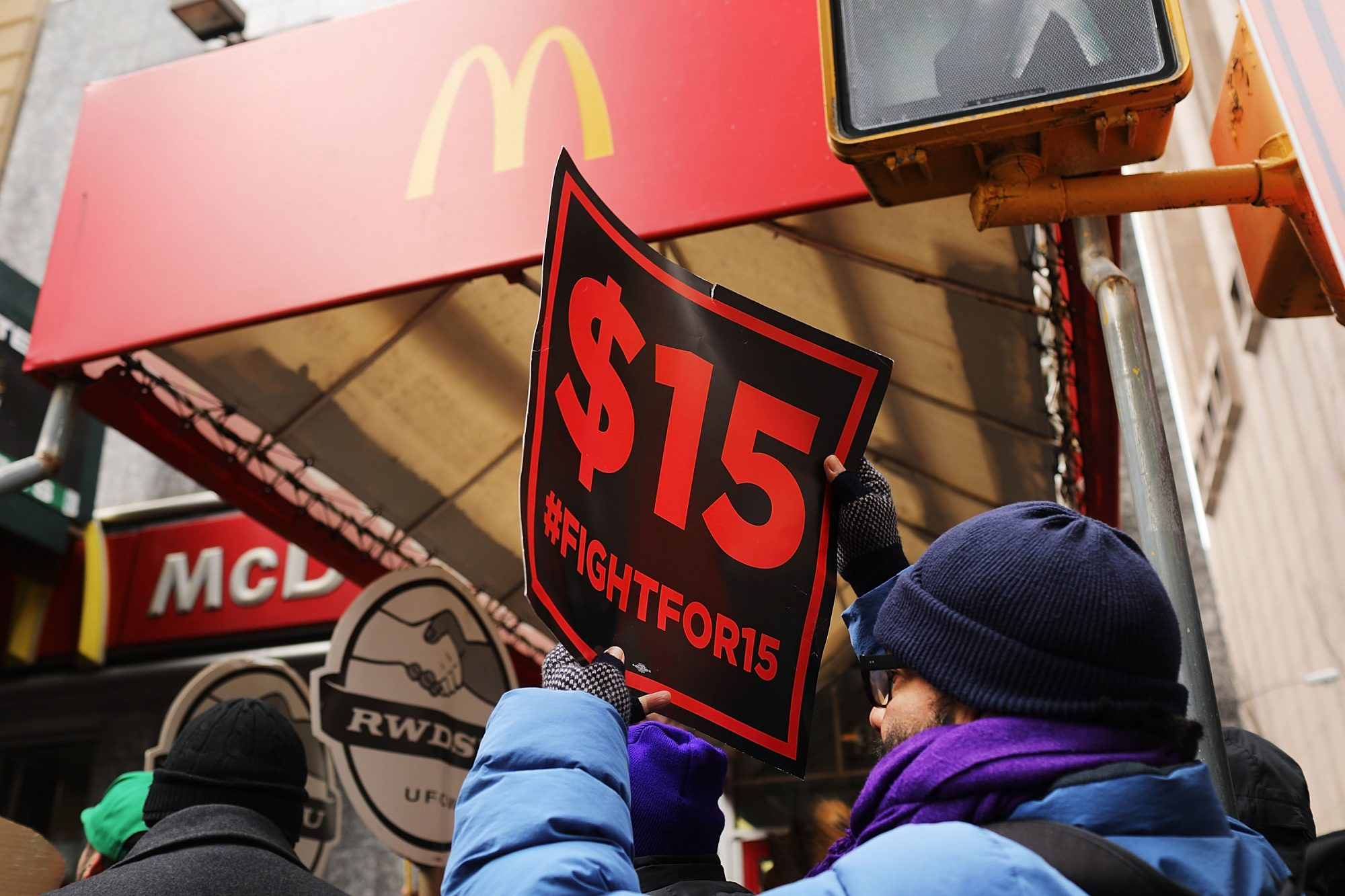 The Fight for $15 Heats Up This Week with More Fast-Food Protests