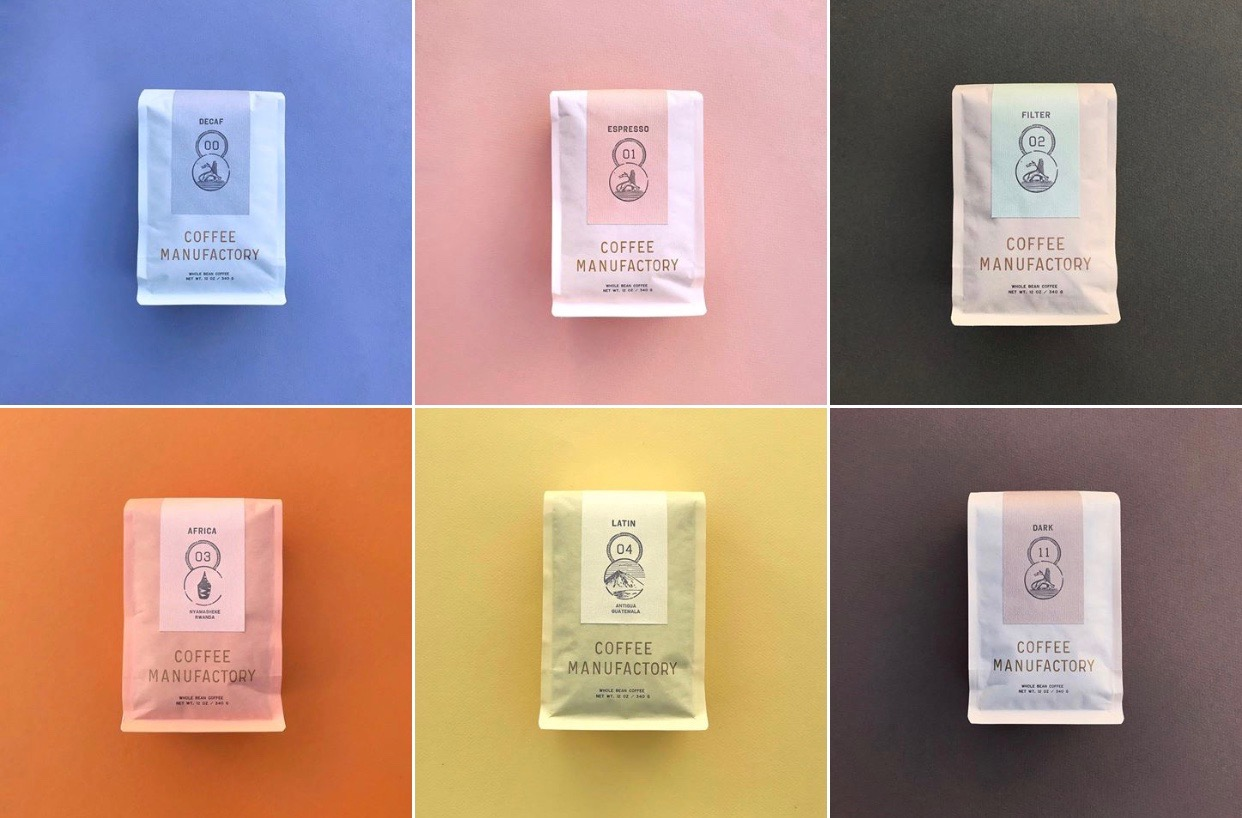 Tartine's New Coffee Manufactory Packaging is Eco-Friendly