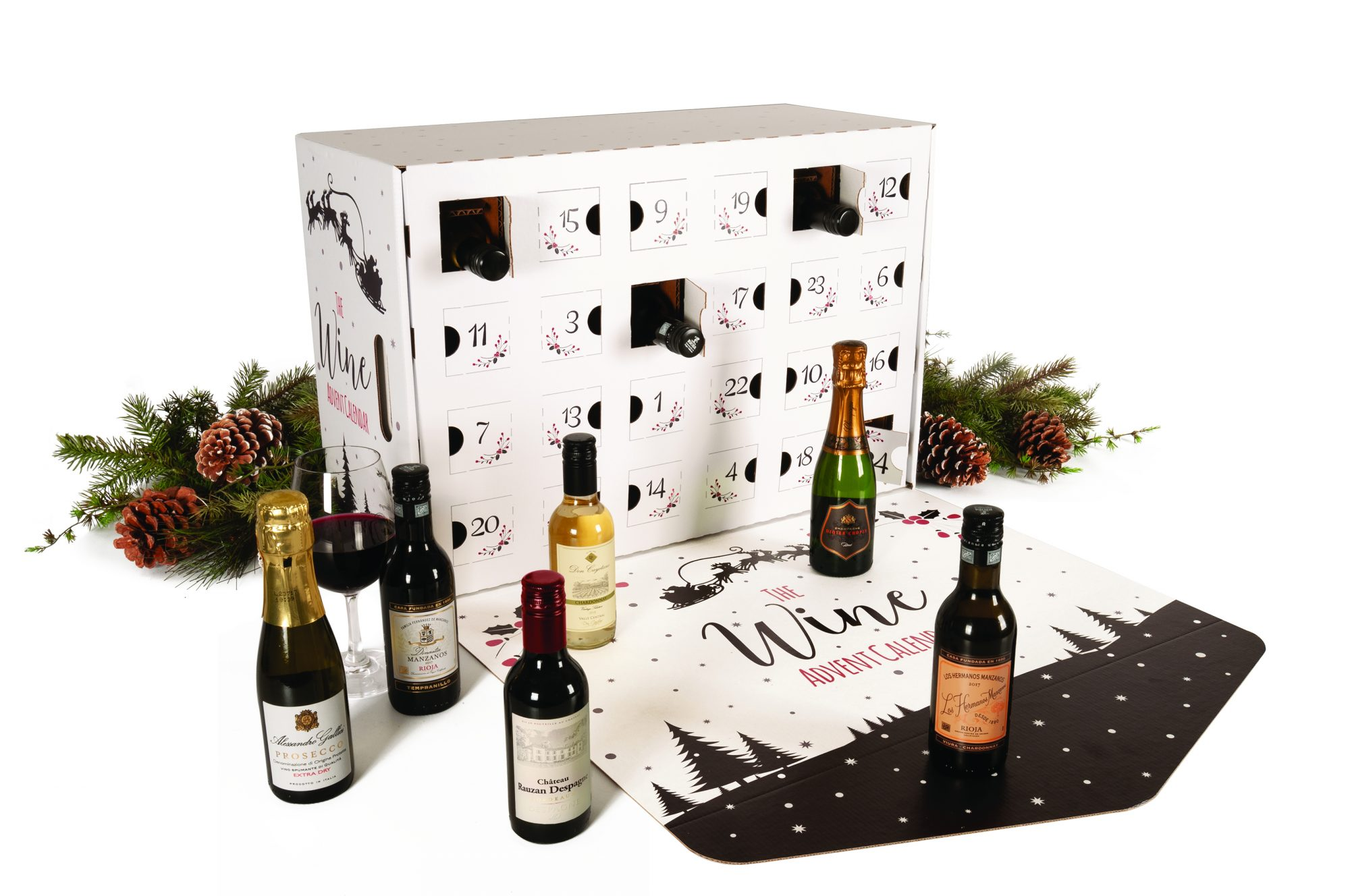 This Wine Advent Calendar Will Put You in the Holiday Spirit