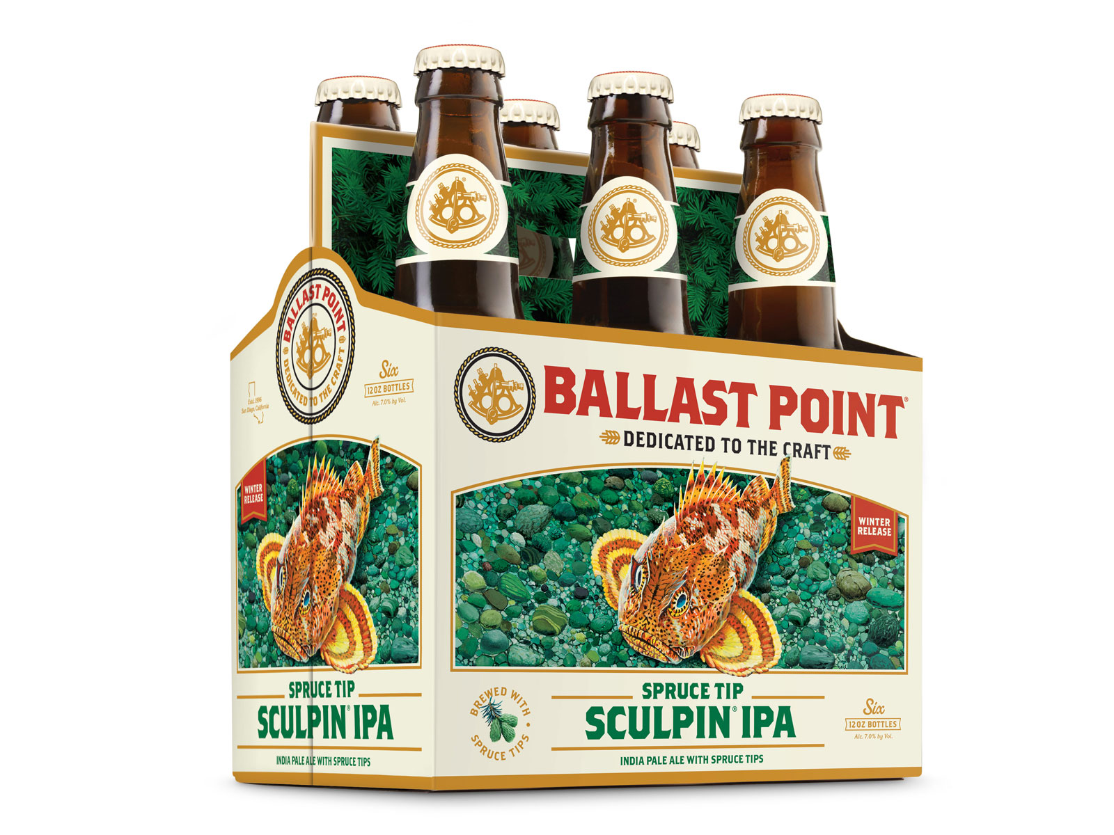 Ballast Point - Spruce Tip Sculpin IPA