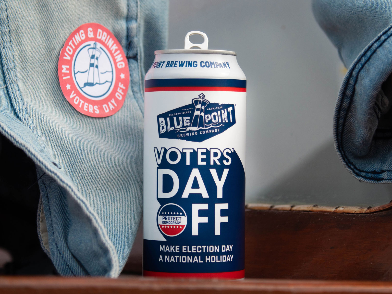 Blue Point's Voters Day Off IPA