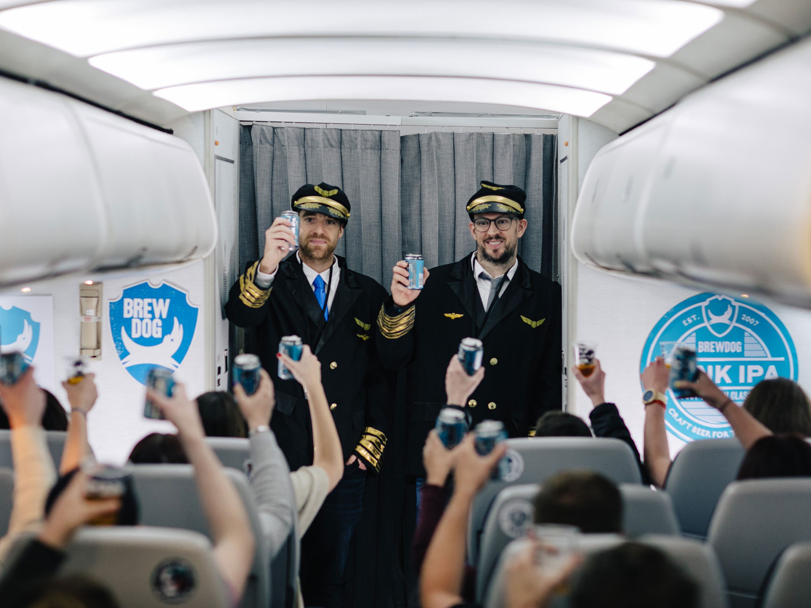 Here's What Happened on BrewDog Airlines' Inaugural Flight