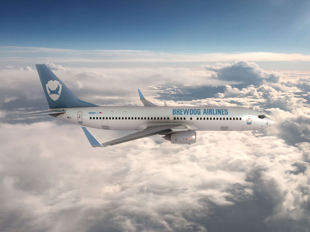 BrewDog Announces 'World's First Craft Beer Airline'