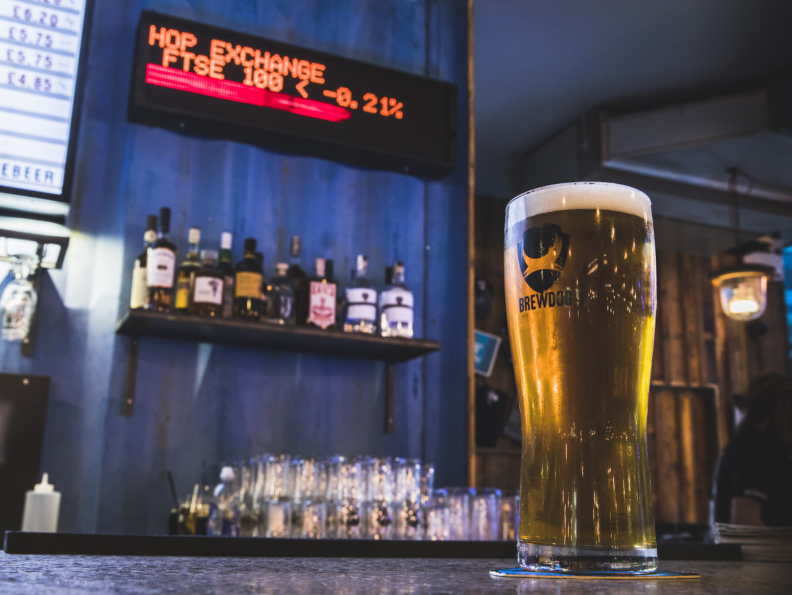 This BrewDog Bar Has a Beer That Changes Price With the Stock Market