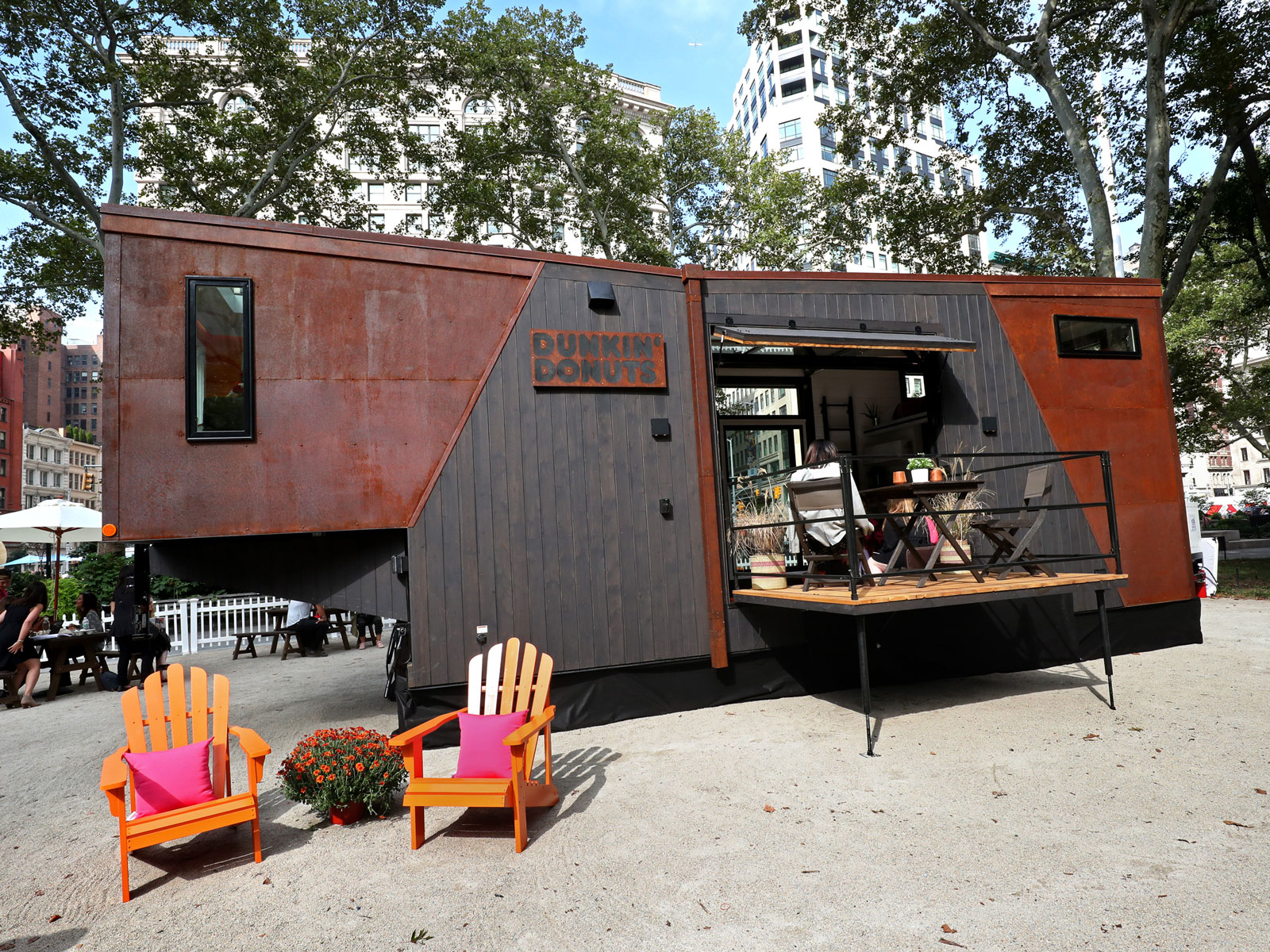 This Tiny Home Actually Runs on Dunkin'