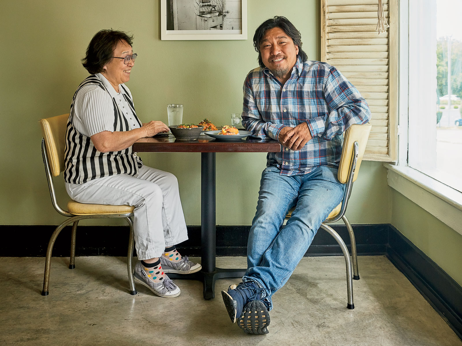 On the Road From Louisville to Washington D.C. With Chef Ed Lee and His Mom