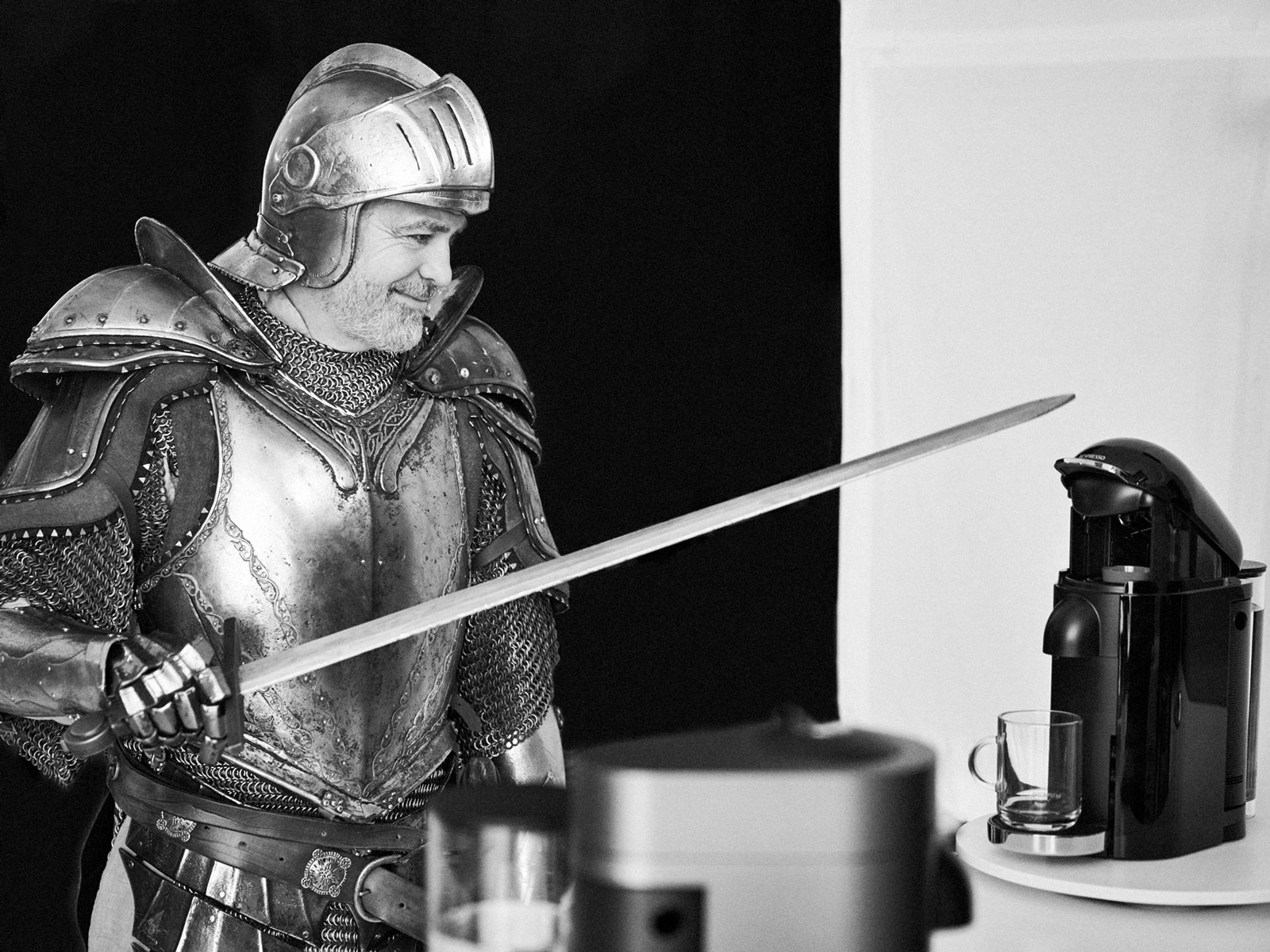 George Clooney Channels 'Game of Thrones' in Latest Nespresso Ad