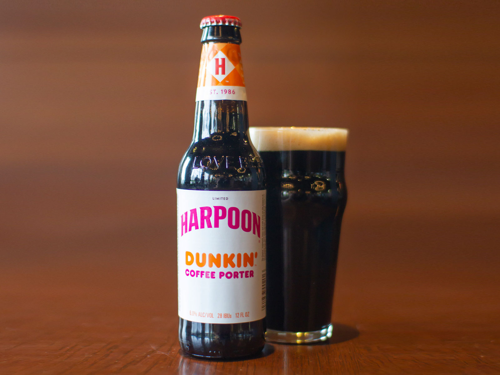 This Coffee Porter Is Your Best Chance Yet to Drink an Official Dunkin' Donuts Beer