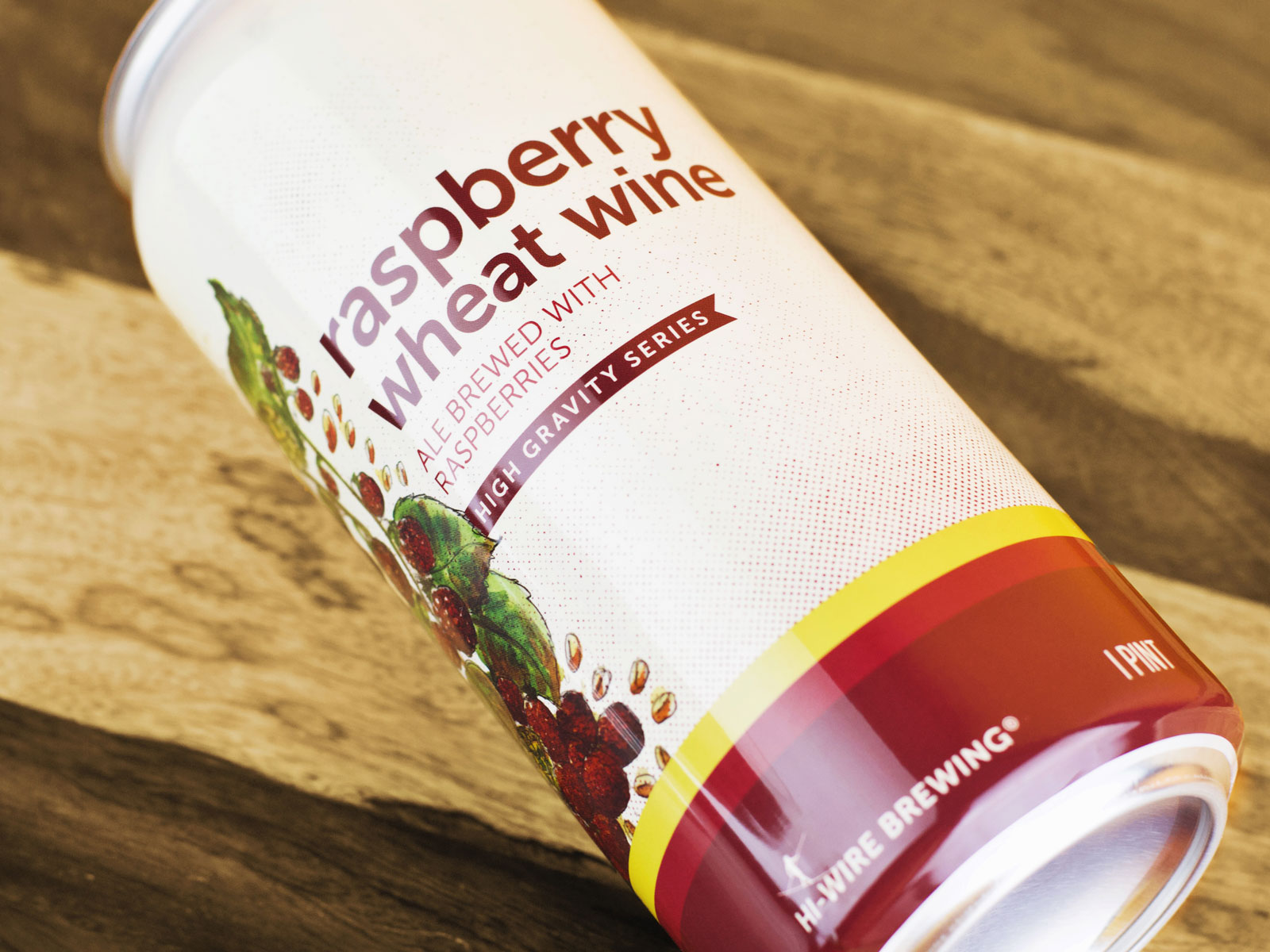 Hi-Wire Brewing - Raspberry Wheat Wine
