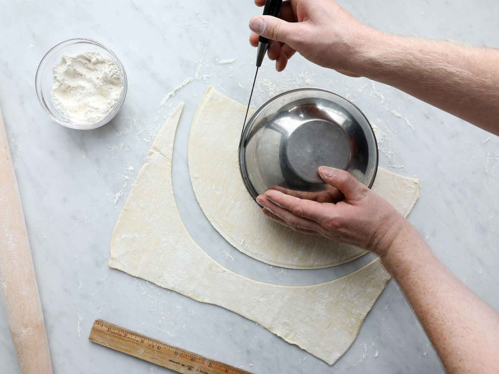 Cut Rounds out of Dough