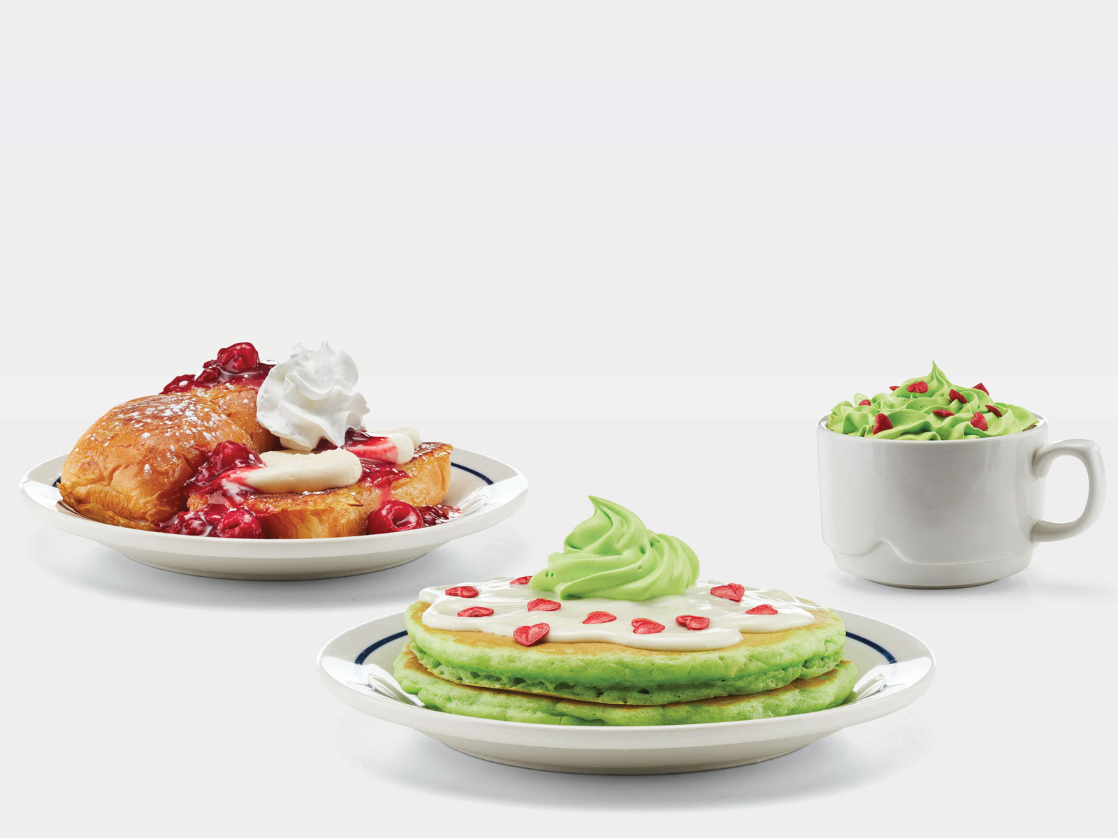 IHOP Grinch Menu Items