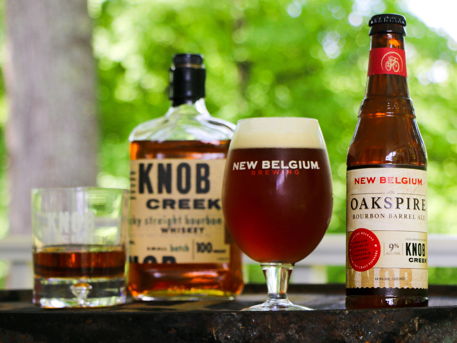 New Belgium - Oakspire Bourbon Barrel Ale