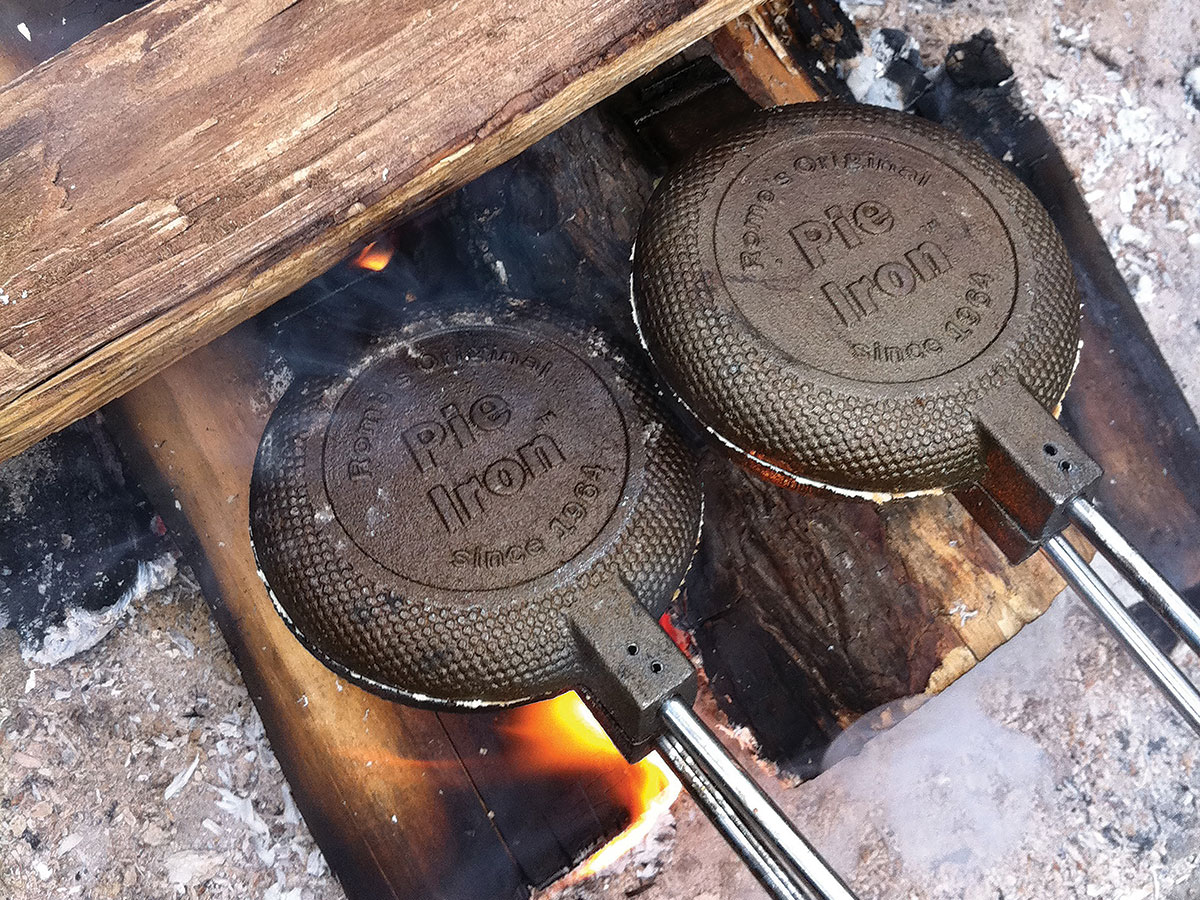 The Pie Iron Is a Midwestern Camping Power Move. Here's How to Use One