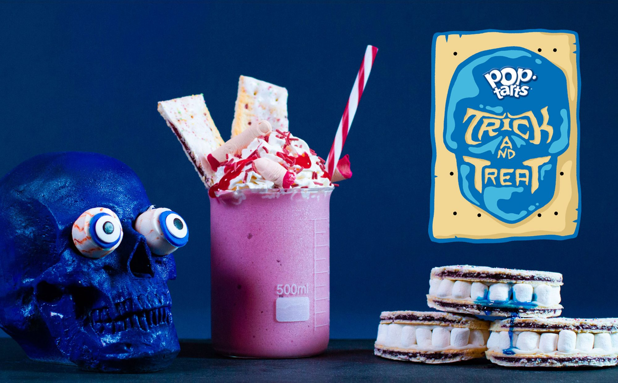 This N.Y.C. Cafe Has a Halloween Menu Where Everything Is Made with Pop-Tarts