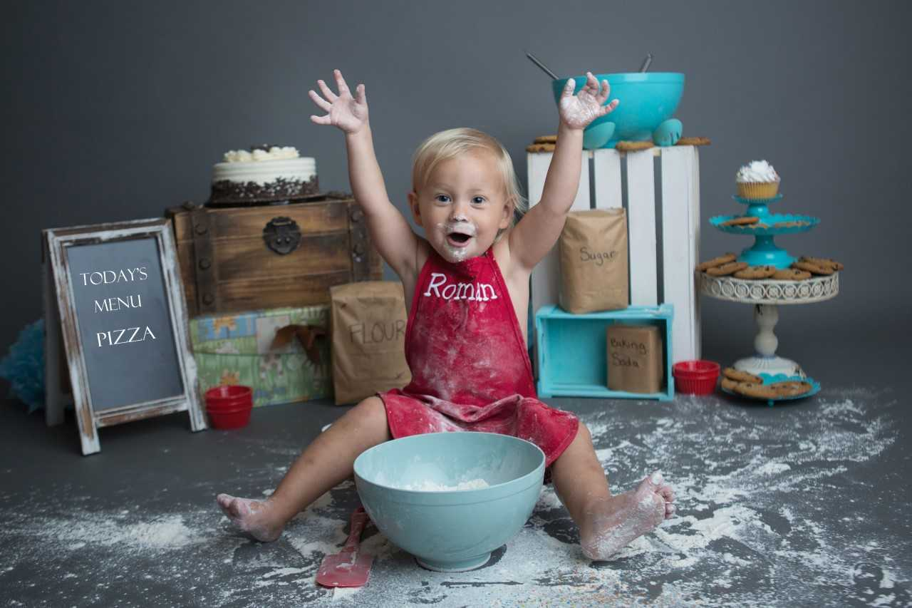 Roman's Cooking Corner! Meet the 2-Year-Old Chef Taking Over the Internet: It's 'Super Cute!'