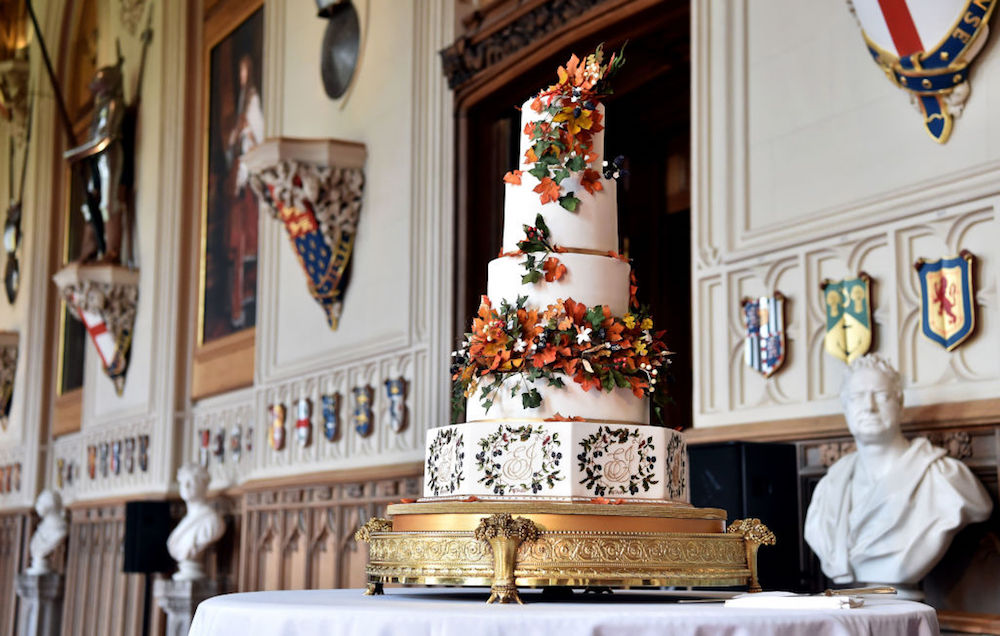 Princess Eugenie's 5-Tier Wedding Cake