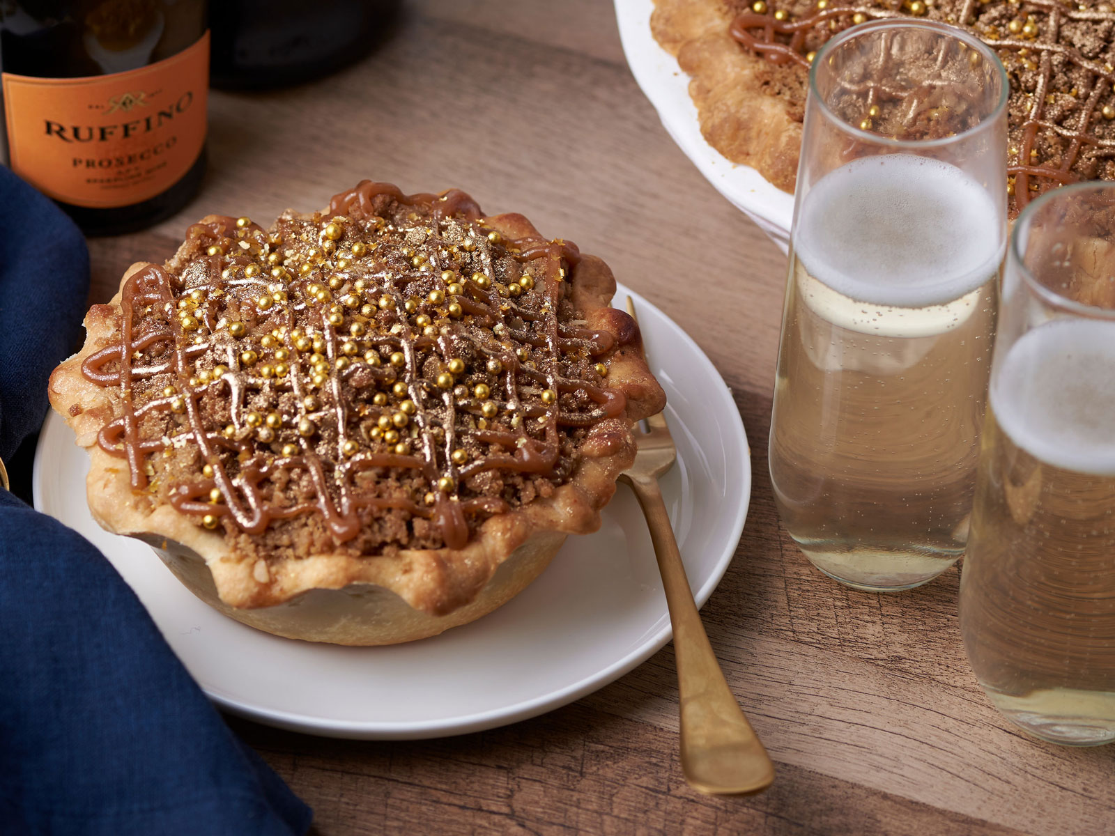 Prosecco Pie Exists, Thanksgiving Is Saved