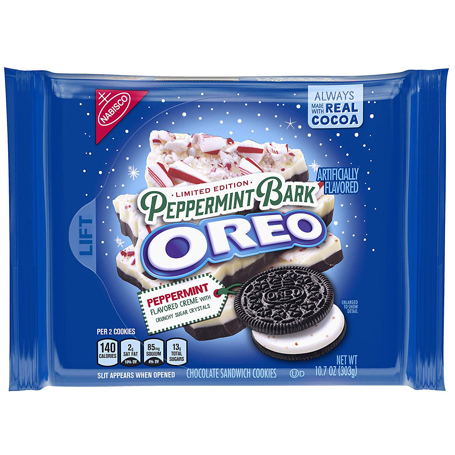 Peppermint Bark Oreos Launch for the 2018 Holiday Season