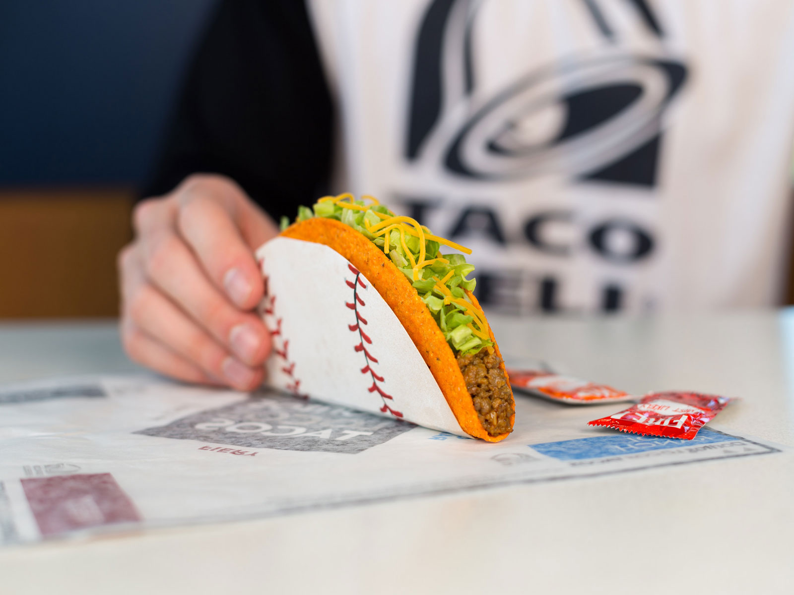 Ready to steal a taco?